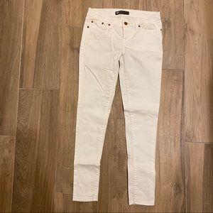 White Skinny Levi Jeans